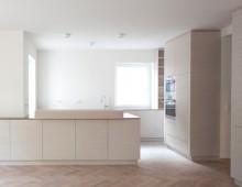 Ahornstrasse, Westend – Wohnküche geweisst
