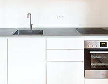 Ringstrasse 02, Lichterfelde – Küchenzeile mit SilverTouch