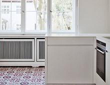Gelfertstrasse – Küche in der Villa