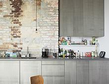 Wohnung Am Falkplatz  –  Küche, Bad, Einbauschränke, Regale & Zimmertüren