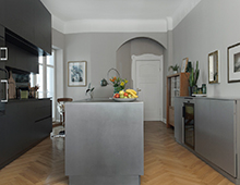 Detmolder Strasse – Kücheninsel SilverTouch